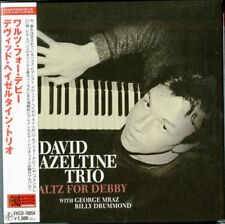 DAVID HAZELTINE TRIO-WALTZ FOR DEBBY-JAPAN MINI LP CD C75