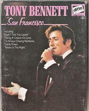 Original Double Cassette - TONY BENNETT - SAN FRANCISCO - 23 TRACKS