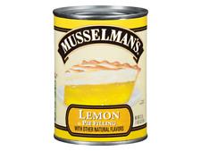 MUSSELMAN'S LEMON CREME PIE FILLING 595G X 2 - US IMPORT - UK SELLER