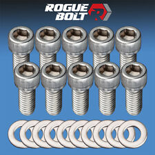 FORD FE VALVE COVER BOLTS STAINLESS STEEL KIT 352 360 390 406 427 428 ENGINES