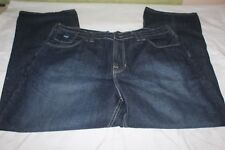 Phat Farm Men's Dark Blue Jeans Size 42