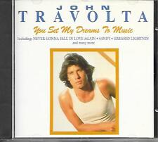 JOHN TRAVOLTA - You set my dreams to music CD Album 20TR UK 1991 (ONN84) RARE!!