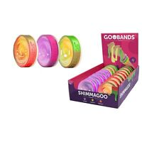 GOOBANDS PUTTY WITH WRISTBAND - GLITTER PUTTY GOO RANDOM COLOURS NEW 2019