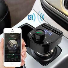 Dual USB Car Kit Wireless Bluetooth  MP3 Player FM Radio Transmitter Car Charger