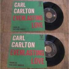 CARL CARLTON - Everlasting Love Rare Belgium PS 7' Nothern Soul