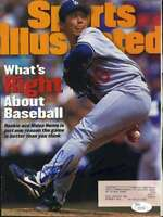 Hideo Nomo Jsa Coa Autograph 1995 Sports Illustrated Hand Signed Authentic