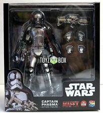 "In STOCK Medicom Toy Star Wars ""Captain Phasma"" 028 TFA MAFEX Action Figure"