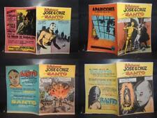 EL SANTO, JOSE G CRUZ HUGE LOT OF 100, ONE HUNDRED ORIGINAL MEXICAN COMICS 50's