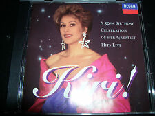 Kiri Te Kanawa A 50th Birthday Celebration Of Her Greatest Hits Live CD