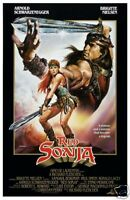 Red Sonja 1985 Arnold Schwarzenegger cult movie poster print