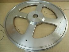 "No Name Meat Band Saw Stainless Pulley Wheel 39-037-00-00-0270 13-13/16"" 1-3/16"""