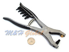 Professional Stainless Steel Leather Belt Hole Punch Puncher Plier