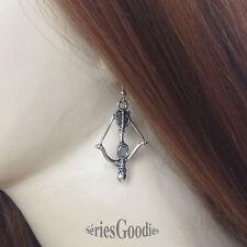 bijou fantaisie celtique  film Boucle d'oreille pendentif un arc et des flèches