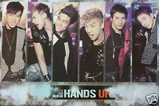 """2PM """"HANDS UP V.2"""" POSTER FROM ASIA - Korean Boy Band, K-Pop Music"""