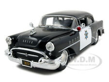 1955 BUICK CENTURY POLICE  1:26 DIECAST MODEL CAR BY MAISTO 31295