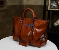 Women's PU Leather Handbag Shoulder Bag Messenger Bags Casual Tote Purse Bags
