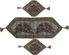 Cotton Blend Christmas Table Linen Set
