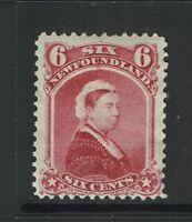 Newfoundland SC# 36 Mint Hinged / Large Hinge Rem - S2779