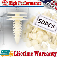 50PCS Front Door Trim Panel Retainer Car Fasteners Clips For GM Chevy Buick GMC
