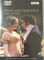 PRIDE AND PREJUDICE – Jane Austen Mini Series Two Disc DVD