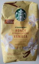 NEW Limited Edition Starbucks Honey & Madagascar Vanilla Ground Coffee FREE SHIP