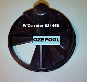 Rotor for W'Co MPV fits S600/S700 T400/T600 black/gray filter,  part 621458
