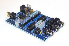 Linkwitz-Riley 3-Way Active Crossover Kit - 24dB/Octave - Electronic Kit