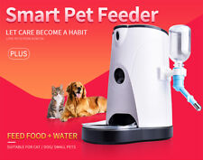 Smart Automatic Pet Feeder Food Water Dispenser With Wifi Camera For Dogs & Cats