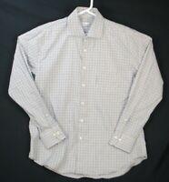 Peter Millar Mens Button Down Shirt Long Sleeve Cotton Size Large L