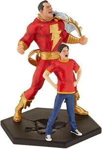 DC Iron Studios Billy Batson &  Shazam 1/10 Sideshow Exclusive Figure Statue MIB