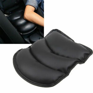Black Car Center Armrest Console Box Soft Pad Cover Cushion Durable Universal