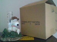 Peanuts Snoopy Baseball Rain Gage GSI Home Styles Garden Collection NIB HTF