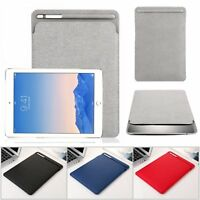 "Soft PU Leather Sleeve Case Cover Pouch For iPad Pro 10.5"" 9.7"" & iPad Air 2018"