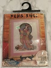 Feng Shui 9890 Oriental Grace Joan Elliot Gersha Kimono Counted Cross Stitch Kit