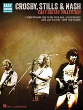 Crosby Stills & Nash Easy Guitar Collection Notes & Tab Book NEW!