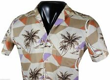 NWOT VTG 80s TRIUMPH Of California HAWAIIAN SHIRT Small Made In USA Deadstock