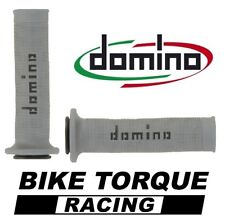 Ducati 748 S  Grey & Black Domino RR Diamond Handle Bar Grips