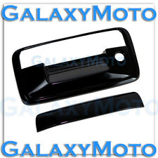2015 GMC Canyon+Chevy Colorado Gloss Black Tailgate Handle w/Keyhole only Cover