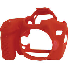 easyCover Protective Skin - Camera Cover for Canon EOS 70D (Red)