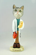 VETERINARIAN SILVER TABY CAT-SEE INTERCHANGEABLE BREEDS & BODIES @ EBAY STORE