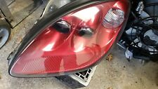 2005 Corvette C6 LEFT Side Headlight Assembly Magnetic RED Driver NICE USED