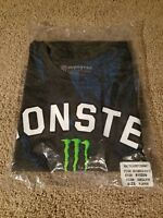 BRAND NEW MONSTER ENERGY TEAM CLUBHOUSE T SHIRT EXTRA LARGE XL