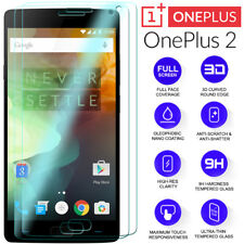 2 x For OnePlus 2 Two Tempered Glass Screen HD Protector Film Clear A2001 A2003
