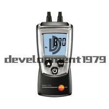 0-100hPa Testo 510 Autoranging Differential Manometer Air Pressure Meter Gauge