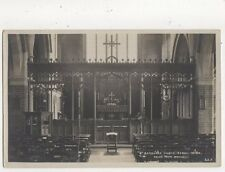 St Barnabas Church Bexhill On Sea RP Postcard Vieler 626a