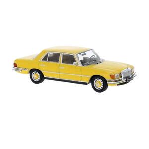 IXO Models CLC330 Mercedes Benz 450SEL (W116) Yellow Scale 1:43 Model Car New !°