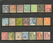 French Indochina - Scott #'s 3/54 - Unused & Cancelled