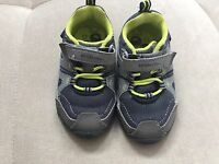 Boys Shoes Stride Rite M2p Demon Size 5 Made 2 Play Gray Blue Used Once