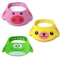Soft Baby Kids Children Shampoo Bath Bathing Shower Cap Hat Wash Hair Shield