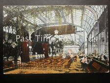 c1906 - Ilfracombe, The Pavilion Interior - Stage set for performance